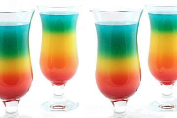 Rainbow Cocktail Von Amerikanisch Kochende Chefkoch