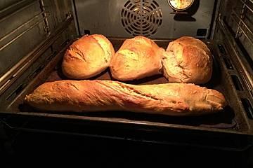 Lecker Brot, Brötchen, Baguette