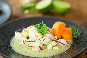 Ceviche, ein leichtes, sommerliches Fischgericht