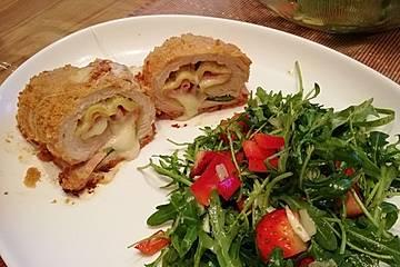 Hähnchen-Zucchini-Röllchen