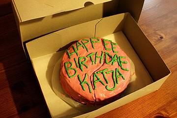 Hagrids Geburtstagstorte