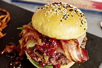 Chefkoch Kirsch-BBQ-Burger