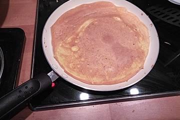 Low Carb Pfannkuchen, die auch wie Pfannkuchen schmecken