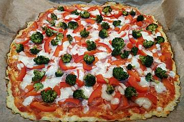 Schnelle Low-Carb Pizza
