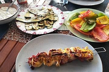 Chicken-Bacon Grillfackeln