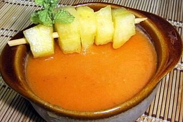 Gazpacho de sandía amarilla