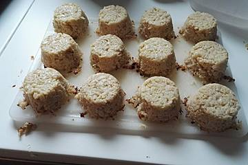 Low carb Blumenkohl-Muffins