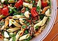 Mozzarella-Nudel-Salat