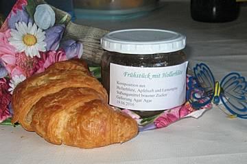 Frühstück mit Hollerblüte