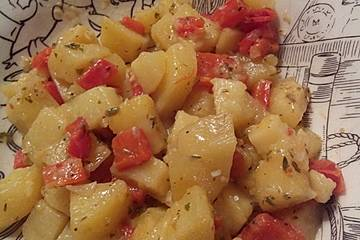 Vegane Kartoffelpfanne
