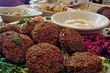 Ägyptische Falafel