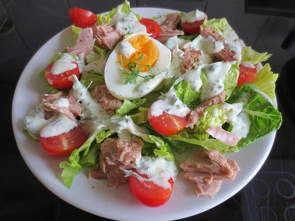 italienischer salat joghurt dressing