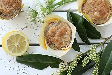 Vegane Zitronen-Chia-Muffins