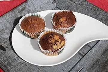 Zebra Geburtstags Muffins