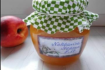 Nektarinen – Melonen Marmelade mit Bourbon Vanille