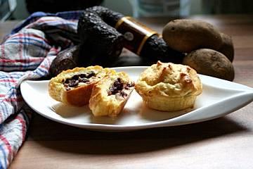 Odenwälder Kartoffel-Muffins mit Blutwurst