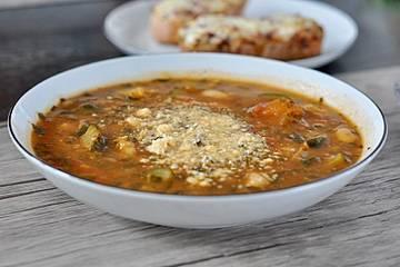 Garbanzo - Bohnen & Tomatensuppe
