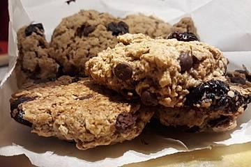 Cranberry-Haferflocken-Cookies