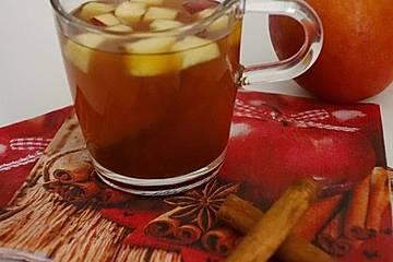 Apfel-Ingwer-Punsch mit Chili