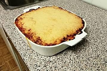 Lasagne mit selbstgemachten Dinkel-Nudelplatten