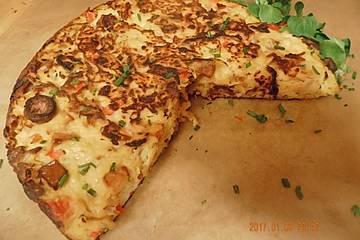 Schnelle Tortilla