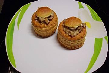 Hackfleisch - Champignon Pastete