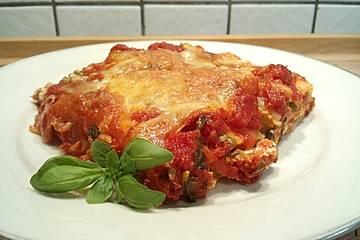 Cannelloni mit Frischkäse - Paprika - Füllung