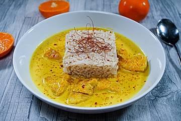 Mandarinen-Puten-Curry