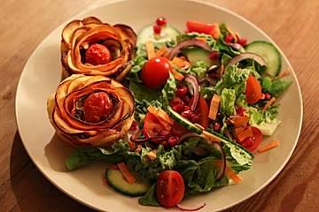 Gemüse-Rosen