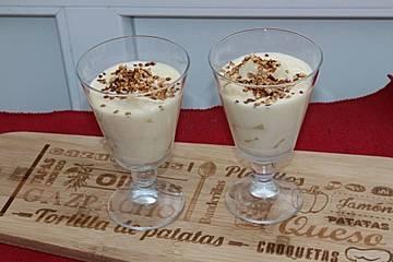 Ananas-Pudding auf einfache Art