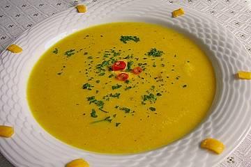 Kürbissuppe aus Mexico