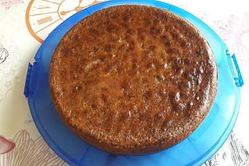 Mohnkuchen mit Quittengelee