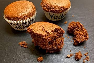 Vegane Cappuccino-Schoko-Muffins mit Kokos