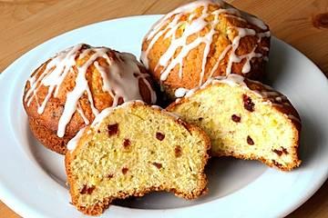 Cranberry-Orangen-Muffins