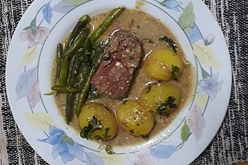Filet mit Gorgonzola