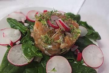 Lachs-Avocado-Tatar