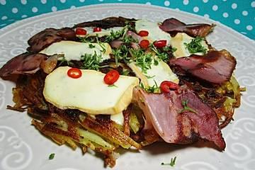 Wongers Kartoffeldotsch aus der Pfanne