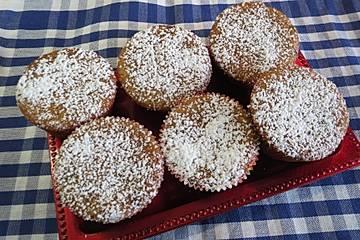 Apfelkompott-Muffins