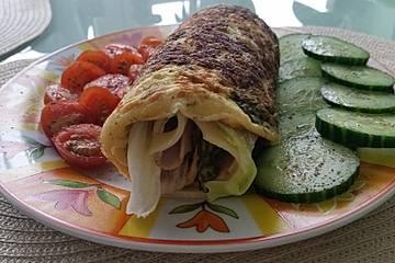 Low Carb Frühstücks-Wraps