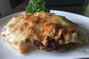 Kohlrabi-Lasagne