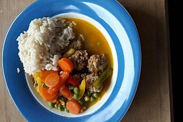 Gemüse Hot Pot