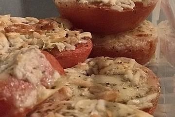 Gebackene Parmesan-Tomaten