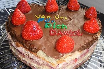 Erdbeer-Muttertags-Torte à la Didi