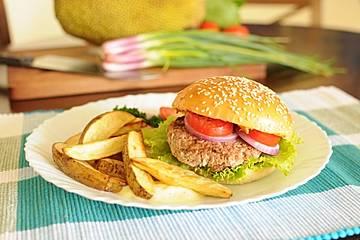 Jackfruit Burger-Patties