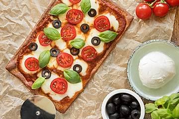 Low Carb Pizzateig alla Lizza