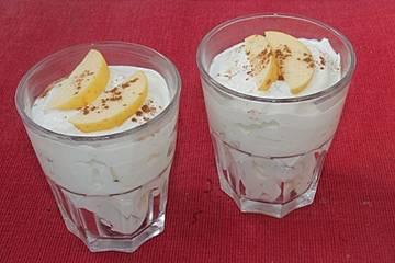 Low Carb Eiweiß Quark Dessert