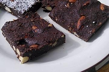 Köstliche Rohkost-Brownies