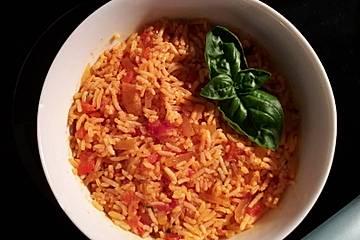Italienischer Nduja-Reis