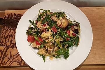 Risonisalat mit Ofengemüse und Tomatenpesto