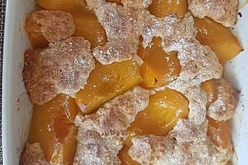 Pfirsichauflauf